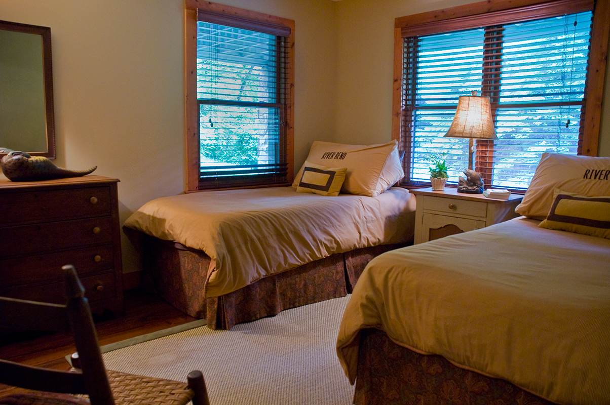 Riverfront Cottage Bedroom 2