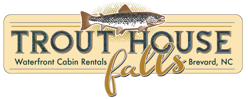 Secluded Luxury Waterfront Cabins, Brevard NC - Trout House Falls